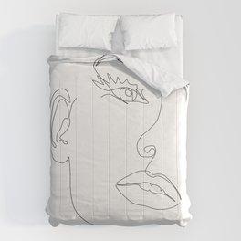 Fine Line Beauty Comforters