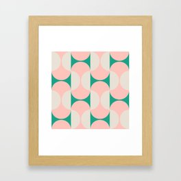 Capsule Cactus Framed Art Print