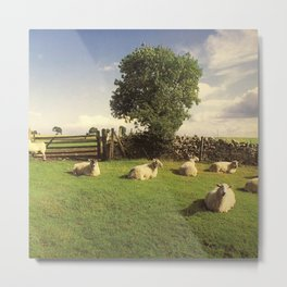 The KLF - Chill Out Metal Print