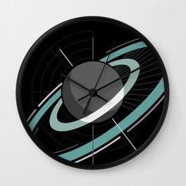 Ringed planet Wall Clock