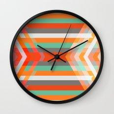 DecoChevron Wall Clock