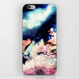 Marbled Galaxy Cells iPhone Skin