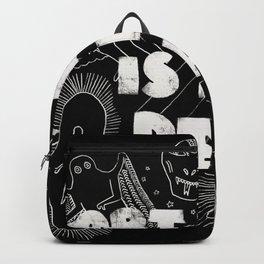 Art Bell Is Not Dead Backpack