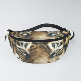 Face of Tiger Fanny Pack