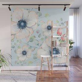 Summer Flowers #society6 #buyart Wall Mural