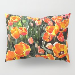 Red Tulips of Istanbul Pillow Sham