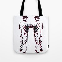 robots Tote Bags featuring - robots - by Digital Fresto