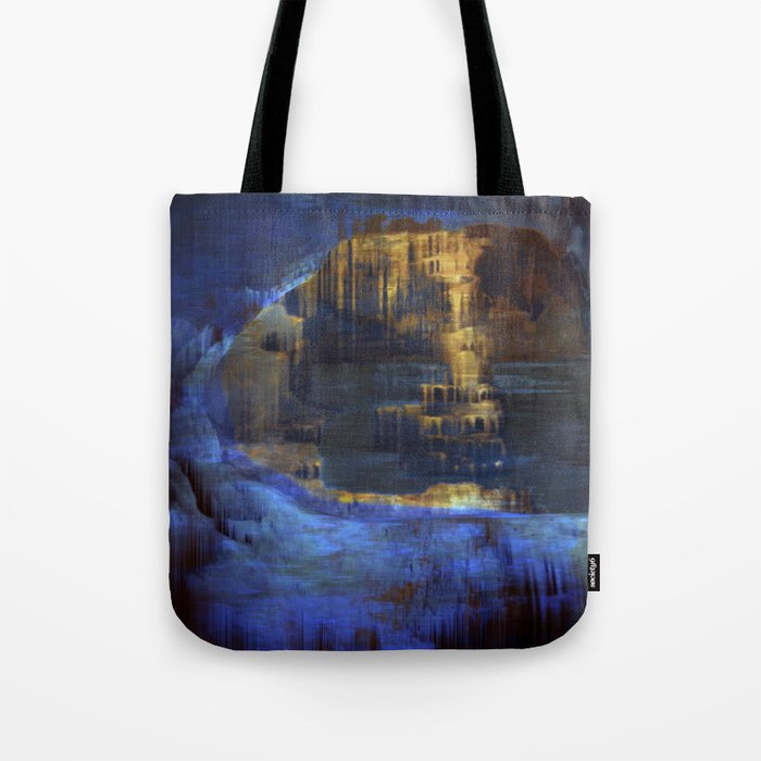 Cave 03 / The Interior Lake / wonderful world 10-11-16 Tote Bag