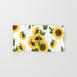 Lovely Sunflower Hand & Bath Towel