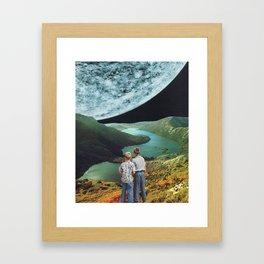 Mercury Afar Framed Art Print