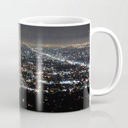 Los Angeles Skyline @ Night  Coffee Mug