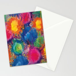 Color explosion Stationery Cards