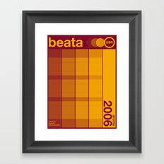 beata single hop Framed Art Print