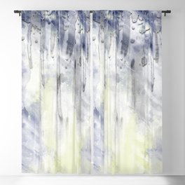 ABSTRACT ART Dream of Paint No. 001 Blackout Curtain