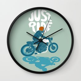 just ride Wall Clock