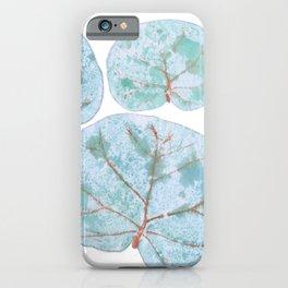 Sea Grape Tropical Leaves iPhone Case