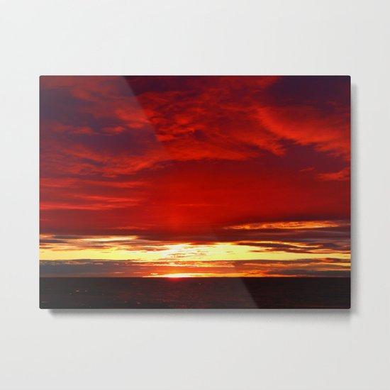 Devil sky Above Metal Print