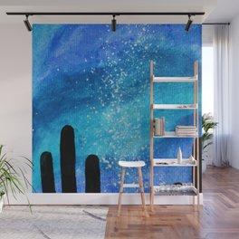 Watercolor Desert Milky way Wall Mural