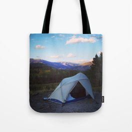 Camping is for lovers Tote Bag