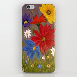 Wildflower-2 iPhone Skin