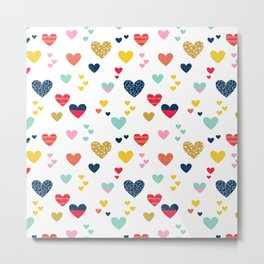 cheerful hearts Metal Print