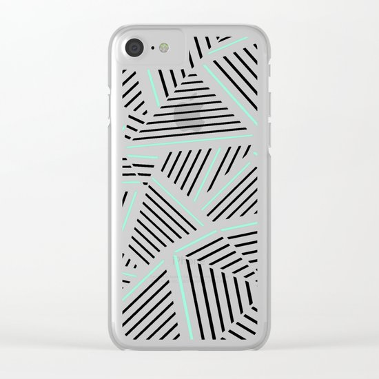 Ab Linear Zoom With Mint Clear iPhone Case