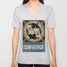Converge Unisex V-Neck