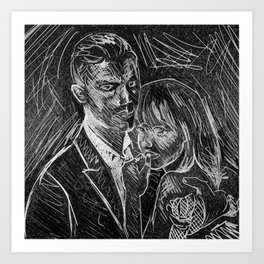 """""""Mr. Grey Will See You Now"""" by Kristin Frenzel Art Print"""