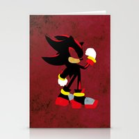 shadow Stationery Cards featuring Shadow by JHTY