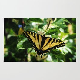 Western Tiger Swallowtail Butterfly Rug