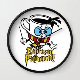 Espresso Patronum 3 Wall Clock