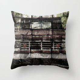 Truck manipulation Throw Pillow