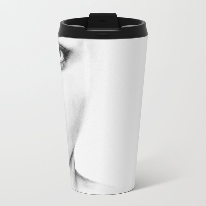Barely Scarlett  Metal Travel Mug