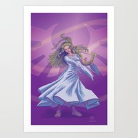 Legend of the Goddess Art Print