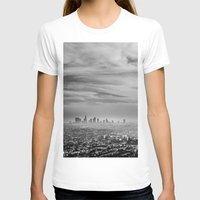 la T-shirts featuring LA by petervirth photography