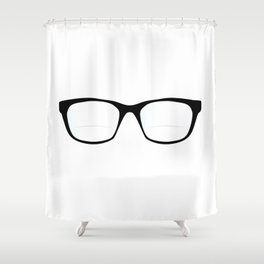 Pair Of Optical Glasses Shower Curtain