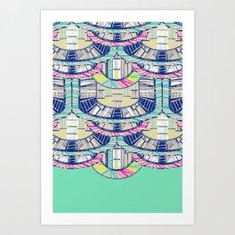 MARFA LIGHT Art Print