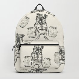 English Bulldog Lift Backpack