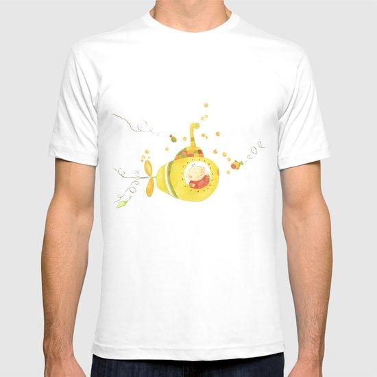 Baby's yellow submarine T-shirt