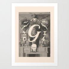 Mors Janua Vitae Art Print