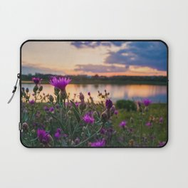 wild steppe violets Laptop Sleeve