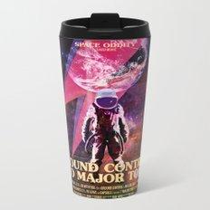 Space Oddity Metal Travel Mug