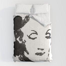 Marlene Dietrich portrait Comforters
