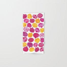 Spring Beet pattern Hand & Bath Towel