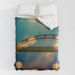 Hoan Bridge Comforters