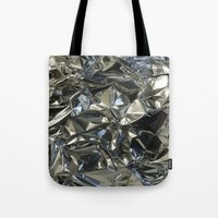 metallic Tote Bags featuring Metallic by Shannice Wollcock