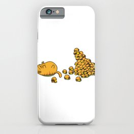 I can't haz more burgers iPhone Case