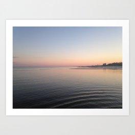 Gulfport Sunset Art Print