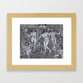 La Danse Macabre Framed Art Print