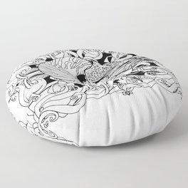 Nautilus Floor Pillow